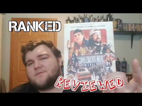 Jay & Silent Bob Reboot Bluray Unboxing & Review   My Ranking of The Kevin Smith Films from YouTube · Duration:  14 minutes 34 seconds