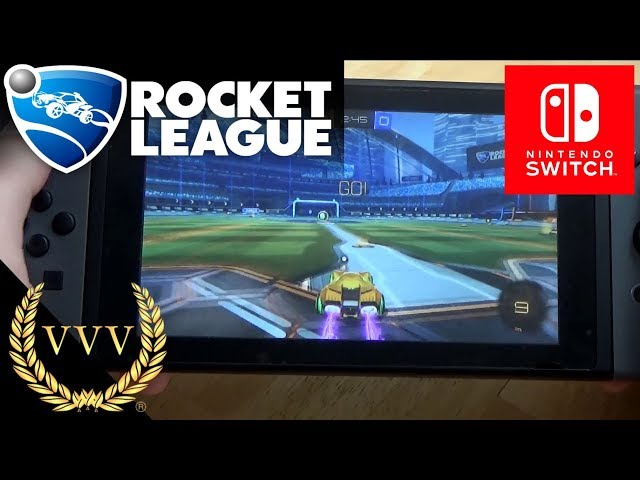 Rocket League - Nintendo Switch Gameplay