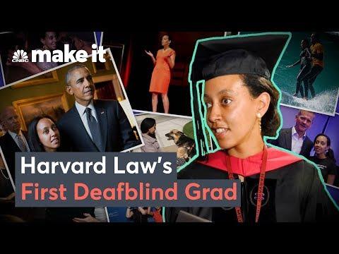 How Haben Girma Became Harvard Law School's First Deafblind Grad