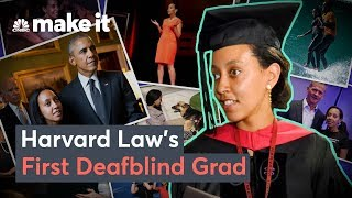 How Haben Girma Became Harvard Law School's First Deafblind Grad