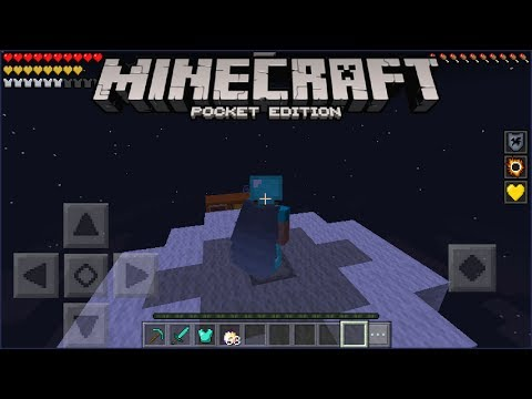 how to get wings in minecraft pe