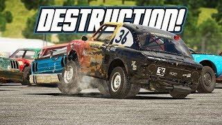 Wreckfest: Destruction! (Career Playthrough Part 2)