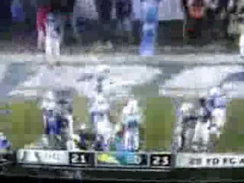 Chargers vs Colts 2007