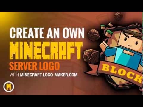 Minecraft Server Website Logo Erstellen Mit Dem Minecraft Logo Maker - Minecraft server icon erstellen
