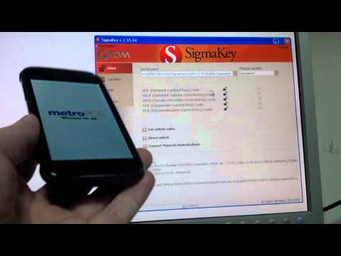Unlock Kyocera C6522 with Sigmakey - YouTube