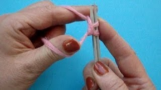 Урок 6 Набор петель на спицы Knitting lesson - cast on Вязание на спицах