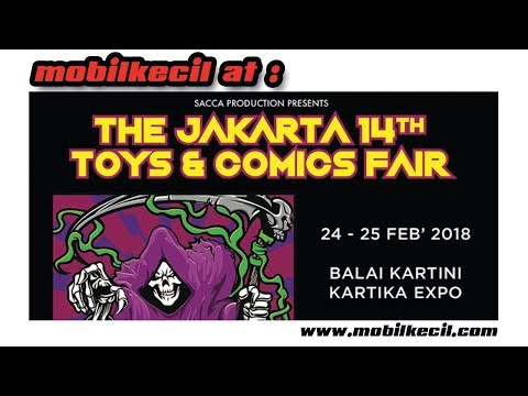 Banyak Setan di The Jakarta 14th Toys & Comics Fair 2018
