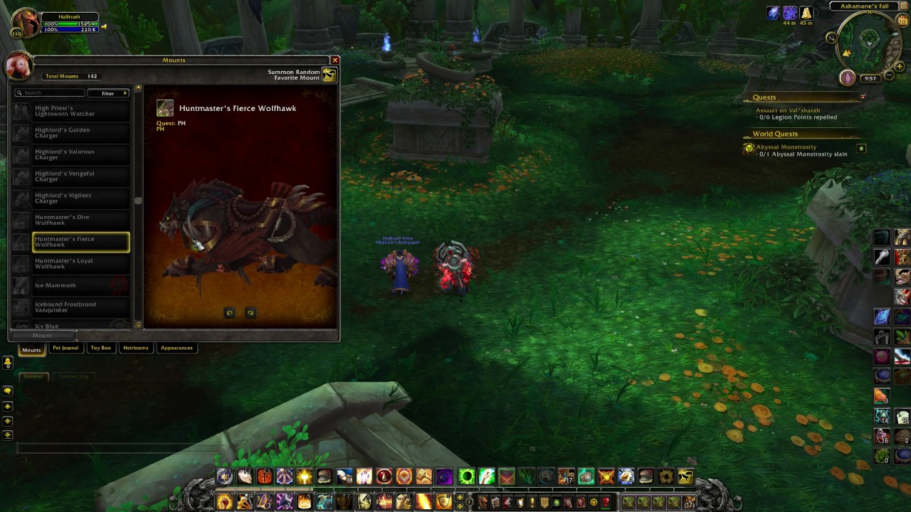 Wow patch 7 2 demon invasions tomb of sargeras class for Wow portent 5 4