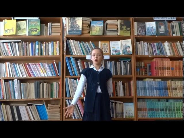 Изображение предпросмотра прочтения – АлександраКомягина читает произведение «Сусальный ангел» А.А.Блока