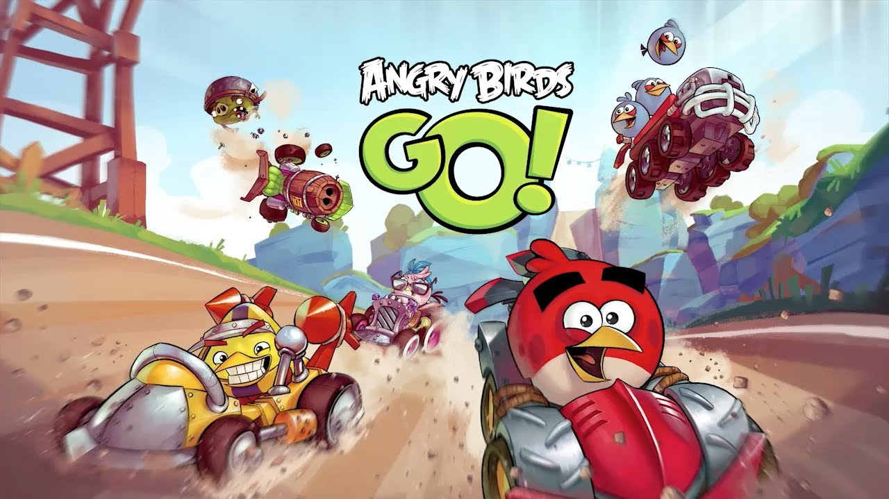 Image result for angry birds go
