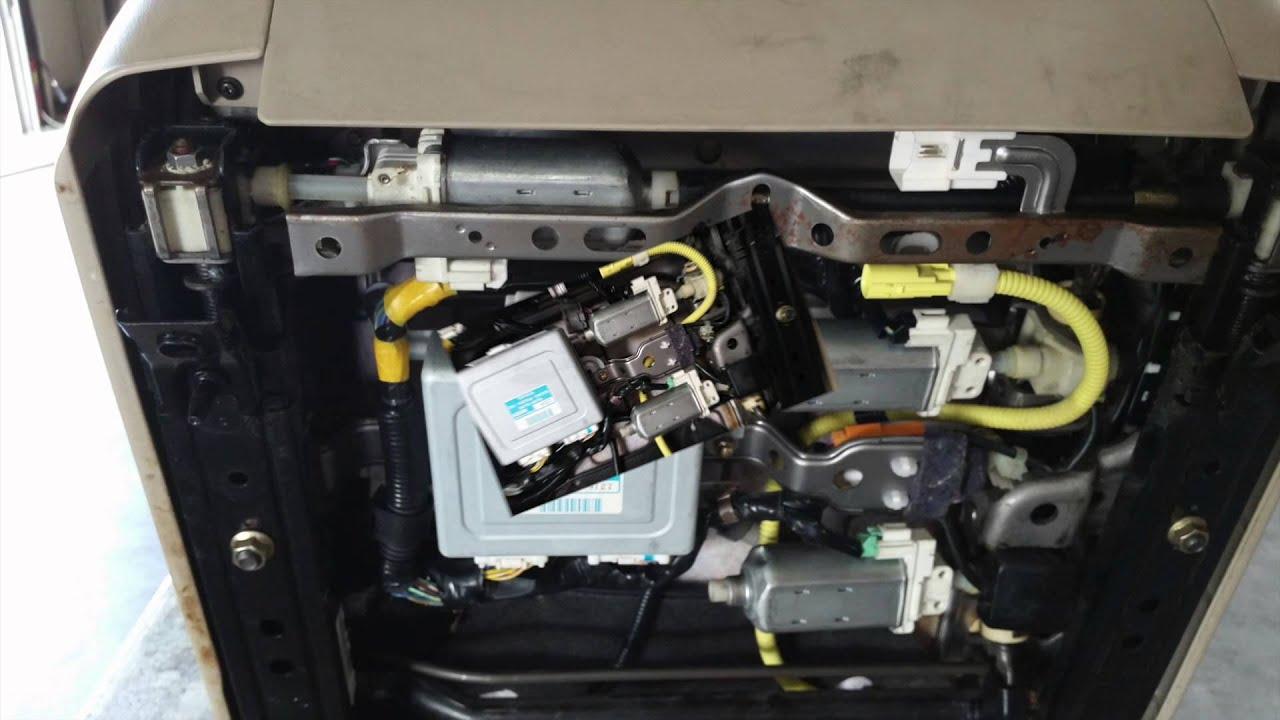 RX300 Lexus Seat Motors - YouTube