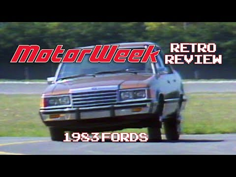 Retro Review: 1983 Ford Motor Co. Lineup
