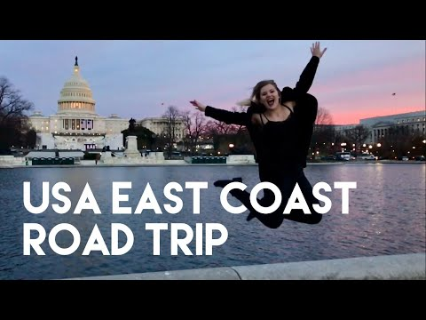 USA East Coast Road Trip - January 2017