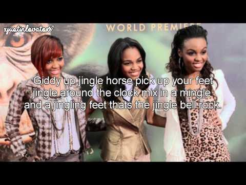 Jingle Bell Rock - The McClain Sisters (Lyrics)