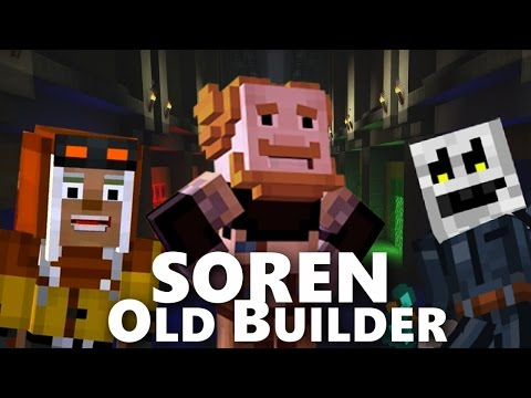 SOREN is a OLD BUILDER ?! | Minecraft Story Mode