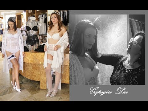 Francesca e Georgiana Collezione wedding couture Capogiro Due 2018