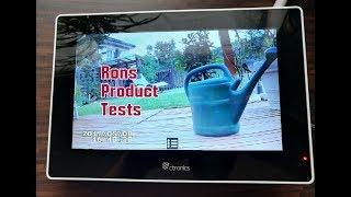 Ctronics überwachungskamera Set 2.4G drahtloses NVR WiFi-Kamera System mit Touchscreen Monitor