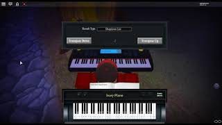 Crab Rave by: Noisestorm on a ROBLOX piano.