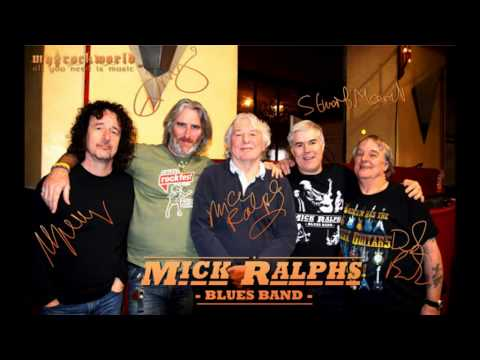 myRockworld - all you need is music - exclusive interview with Mick Ralphs Blues Band