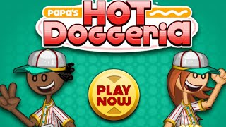 Скачать Papa S Hot Doggeria Full Gameplay Walkthrough All Levels