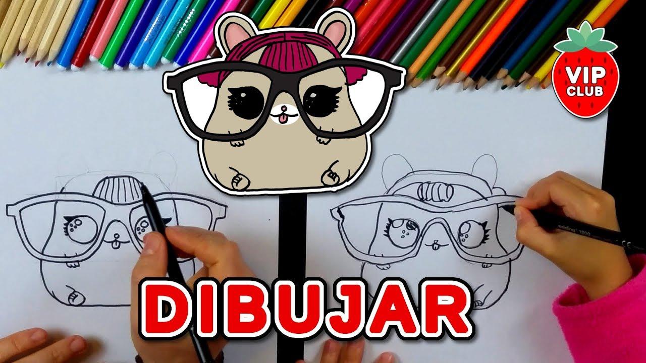Cómo Dibujar Una Muñeca Lol Surprise Series 3 Pets Cherry Ham Videotutorial Diy Hazlo Tú Mismo