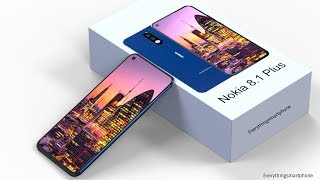 Nokia 8.1 Plus Introduction Concept with Under Display Camera
