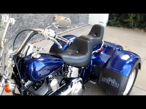 Harley Softail Custom Motor Trike Vance & Hines For Sale
