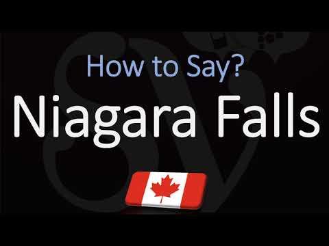 How To Pronounce Niagara Falls? (CORRECTLY)