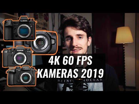 Panasonic S1H vs. GH5 vs. Fuji XT-3 vs. Blackmagic Pocket Cinema Camera 4K | 4K 60 fps Kameras 2019