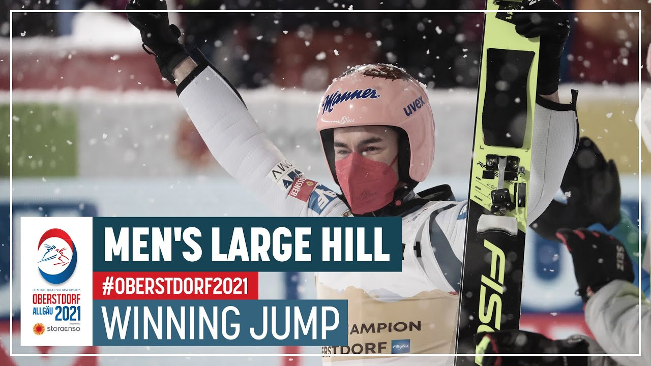 Second LH title for Kraft | Men's Large Hill | 2021 FIS Nordic World Ski Championships