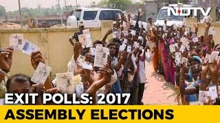 assembly elections 2017 whos winning up punjab? heres what exit polls show