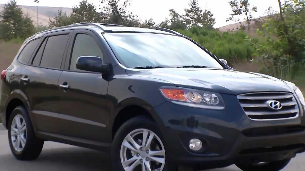 ► 2012 Hyundai Santa Fe Limited