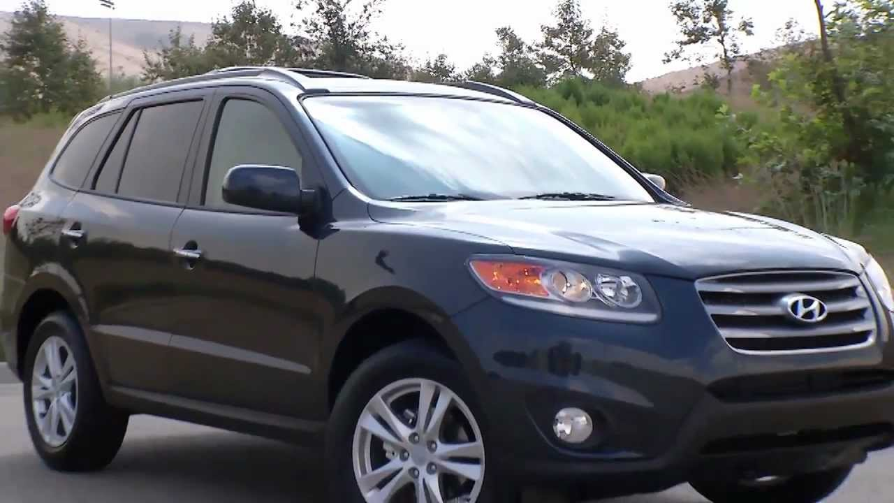 2012 Hyundai Santa Fe Limited Youtube
