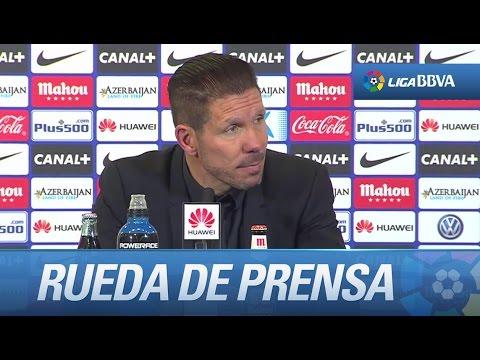 """Simeone: """"Tengo que agradecer a los futbolistas la tarde que nos han hecho pasar"""""""