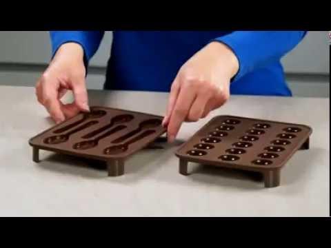 Силиконовые формы для шоколадных конфет Delicia Choco