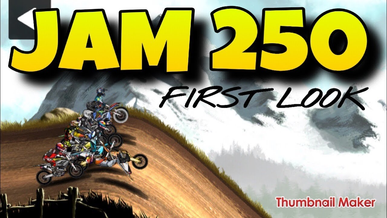 MAD SKILLS MOTOCROSS 2 - JAM WEEK 250 - FIRST LOOK - TRICKY TRACKS - CRAZY LINES