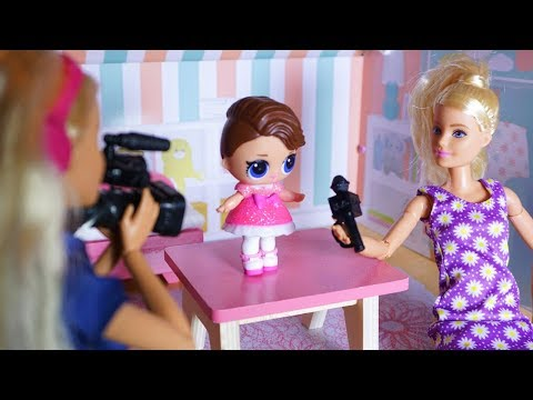LOL SURPRISE DOLLS Posh Gets Recognized On TV And Harper Is Not Happy About It!