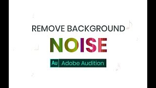 Remove background Noise in audio or videos [Hindi Tutorials]