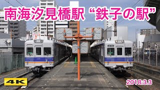 南海汐見橋駅『NANKAI 鉄子の駅』開催 2018.3.3【4K】