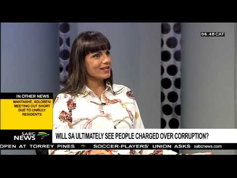 Will SA ultimately see people charged over corruption?