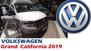 автодом Volkswagen Grand California 2019. Обзор