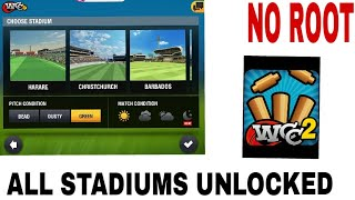 How To Unlock All Stadiums In WCC2(No Root)(Best trick)