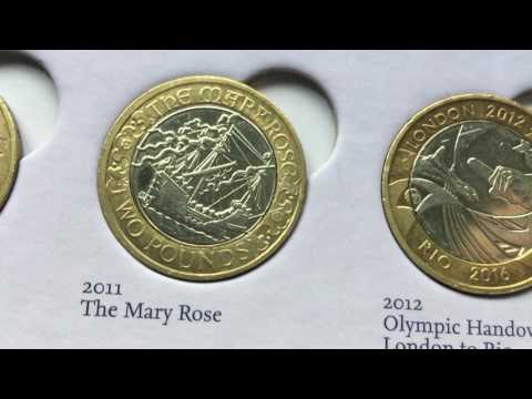 *RAREST* £2 Coins in Circulation - FT. Common Wealth, Mary rose and more - UkCoinHUNT