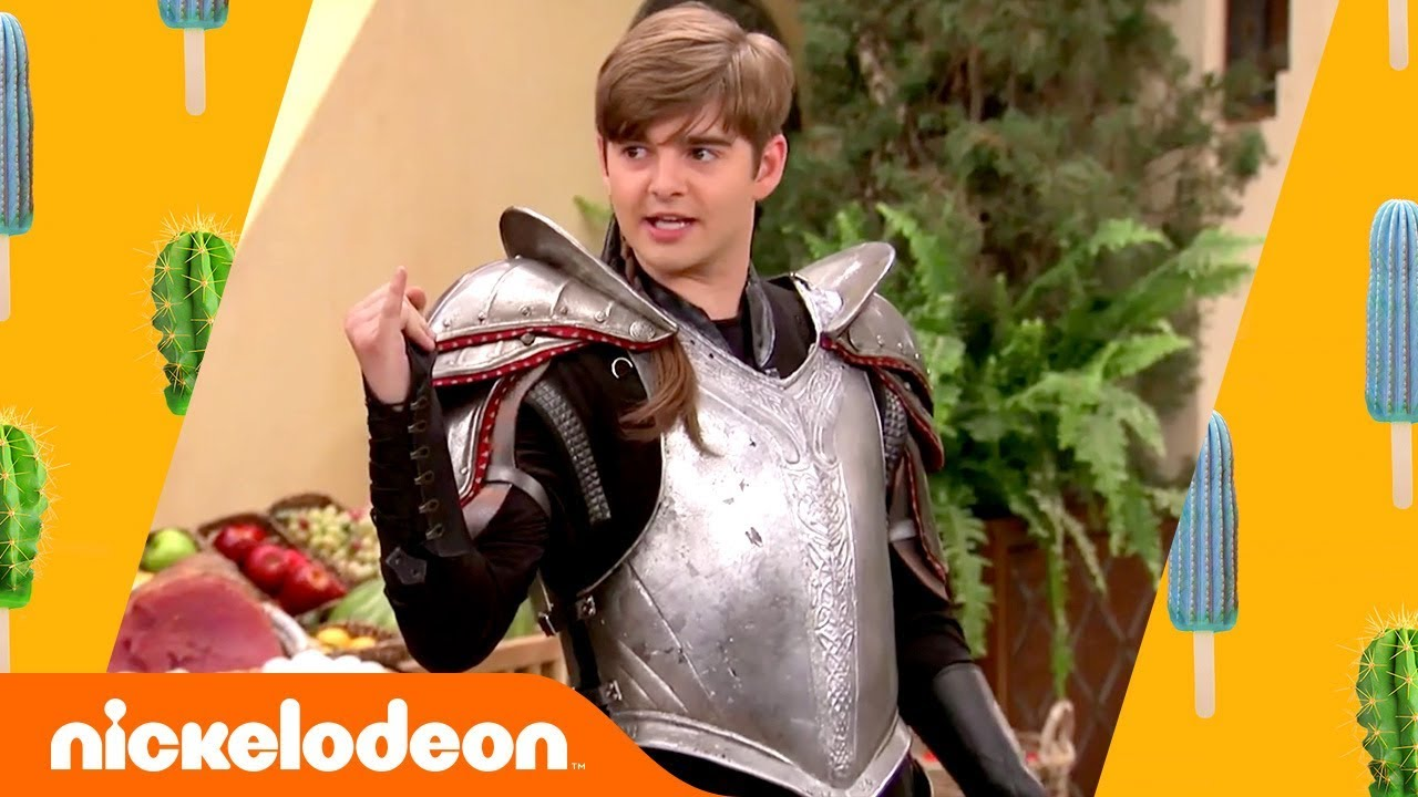 Download Jack Griffo Joins the Knighthood in Astoria as Sir Swayze 🤩 | Knight Squad