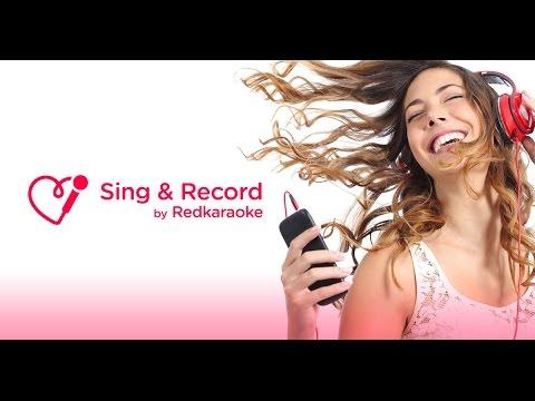 Red Karaoke Sing & Record 1