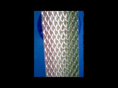 Сетка алюминивая мелкая ячейка Jacky Auto Sport-002