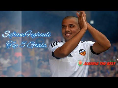 Feghouli ●Top 5 best Goals  HD