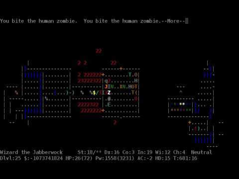 """NetHack """"fastest realtime"""" April 1st TAS 4fps by ais523, ChrisS67, and dwangoAC"""