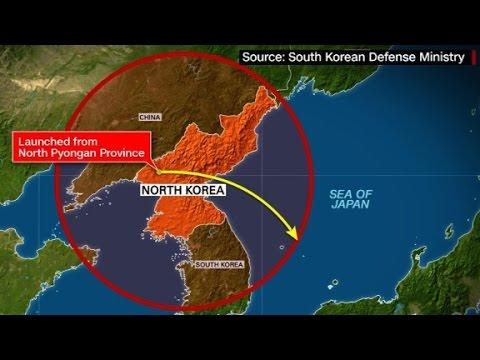 N. Korea tests intermediate-range missile