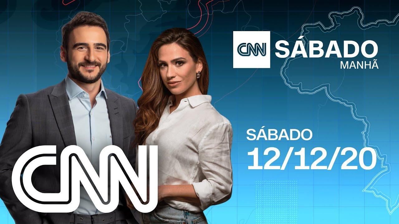 CNN SÁBADO MANHÃ - 12/12/2020